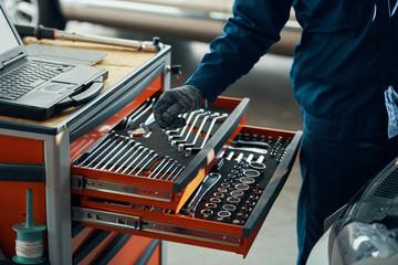 Taking wrench