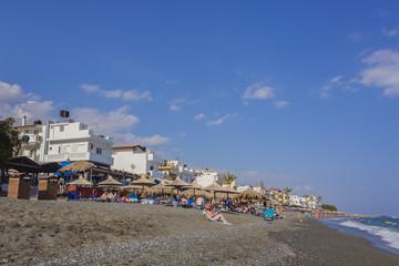 Plage de Myrtos en Crète - Grèce