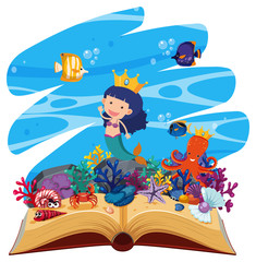 Deep water open book