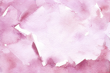 watercolor pink blurred background