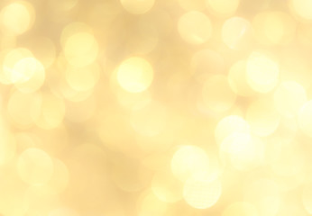 Gold abstract backgrounds with bokeh.
