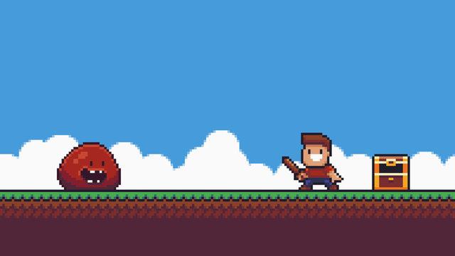 Pixel Art Battle