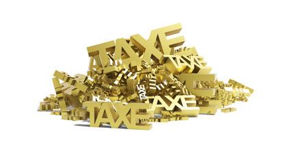 montagne de taxes
