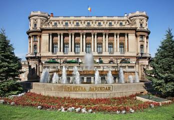 National Military Club in Bucharest. Romania