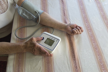 older woman and blood pressure