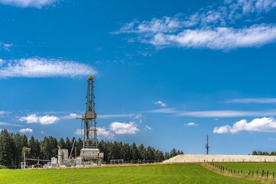 Geothermie in Bayern bohrt in 5000 Meter Tiefe nach heißem Wasser