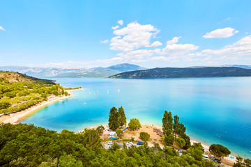 Lac de Sainte-Croix, Lake of Sainte-Croix, Gorges du Verdon, Pro