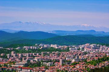 View over Veliko Tarnovo