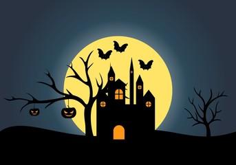 Halloween Design Logo