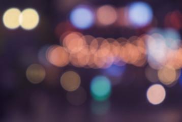 defocused bokeh light, abstract background