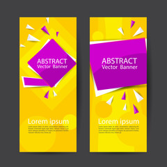 Vector abstract design banner template.Perfect background design for headline and sale banner.