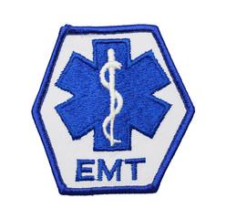 Blue EMT Patch