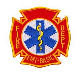 Fire Department EMT  Patch