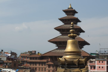 Buddhist Pagoda in Bhaprapur Nepal