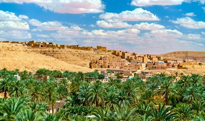 Ksar Bounoura, an old town in the M'Zab Valley in Algeria