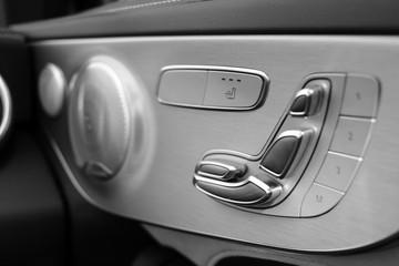 Sitzverstellung im Fahrzeug