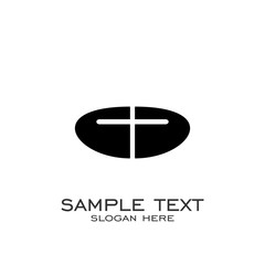 church logo design. the church's cross logo