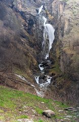 Waterfall in french Alps