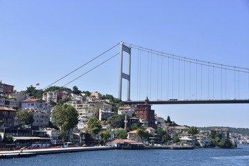 Waterfront houses of Bosphorus