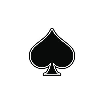 spade, playing card ace