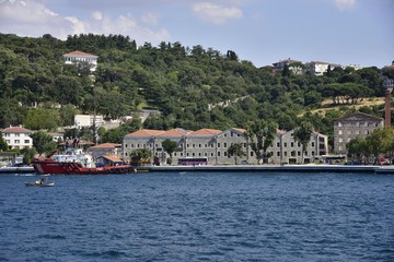 Waterfront houses of Bosphorus - istanbul