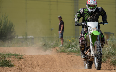 Motocross personal instructor