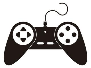 Isolated joystick toy icon