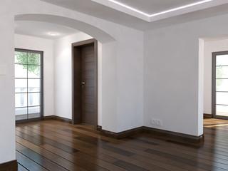 Empty Interior - 3d render