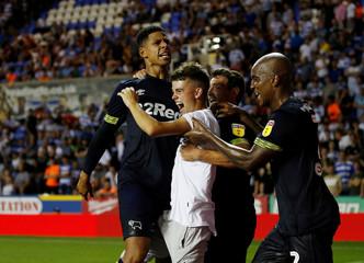 Championship - Reading v Derby County