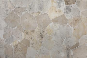 Stone block masonry. Background texture