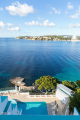 Panoramic view of Bay in front of Magaluf