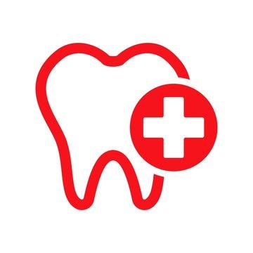Dental logo. Dentist Icon. Orthodontic symbol. Vector eps 08.