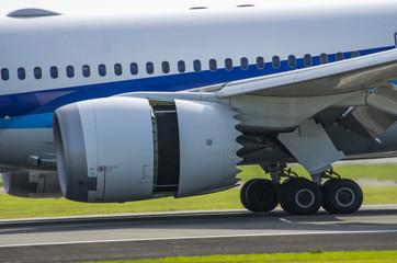 ジェット旅客機・逆噴射