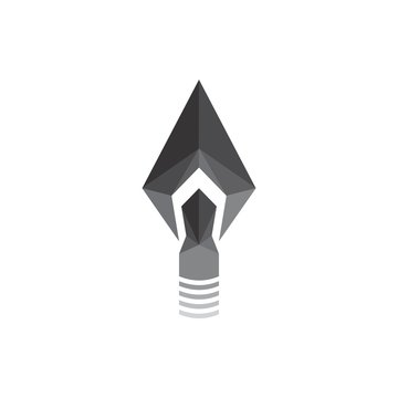 3D arrow logo