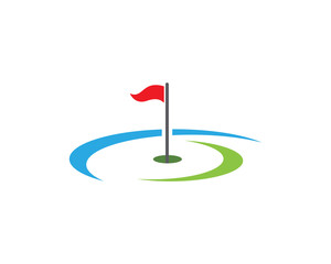 Golf Logo Template icon design