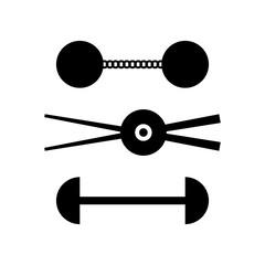 Chain-shots (sailing ship ammunition)