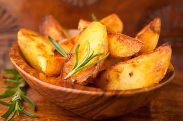Kartoffel Wedges mit Rosmarin
