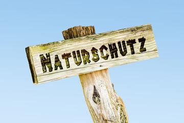 Schild 329 - Naturschutz