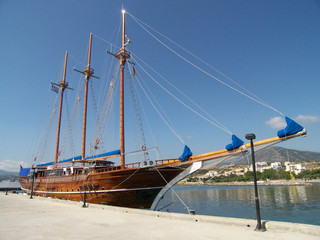 Traditional Sailing Ship