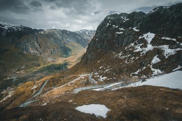 Norway Trollstigen Landscape