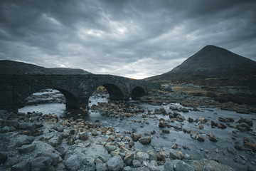 Scotland sligachan landscape