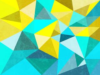 Fundo abstrato formado por triângulos