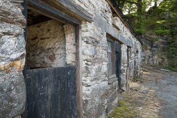 Historischer Pferdestall - Wales