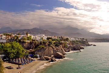 Nerja Playa Calahonda Andalusia Costa del Sol Spain