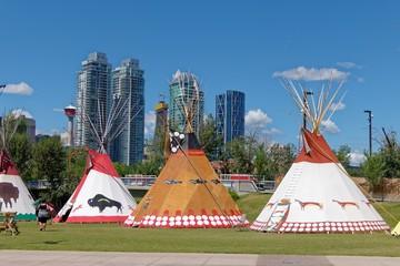 Teepees in Calgary