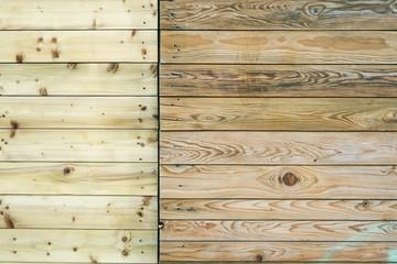 ausgeblichene Holzwand Hinergrund