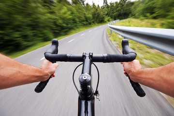 Road cycling stock photo