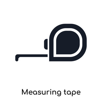 measuring tape icons isolated on white background. Modern and editable measuring tape icon. Simple icon vector illustration.