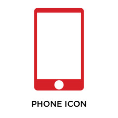 phone icons isolated on white background. Modern and editable phone icon. Simple icon vector illustration.