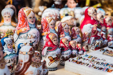 Beautiful matryoshkas